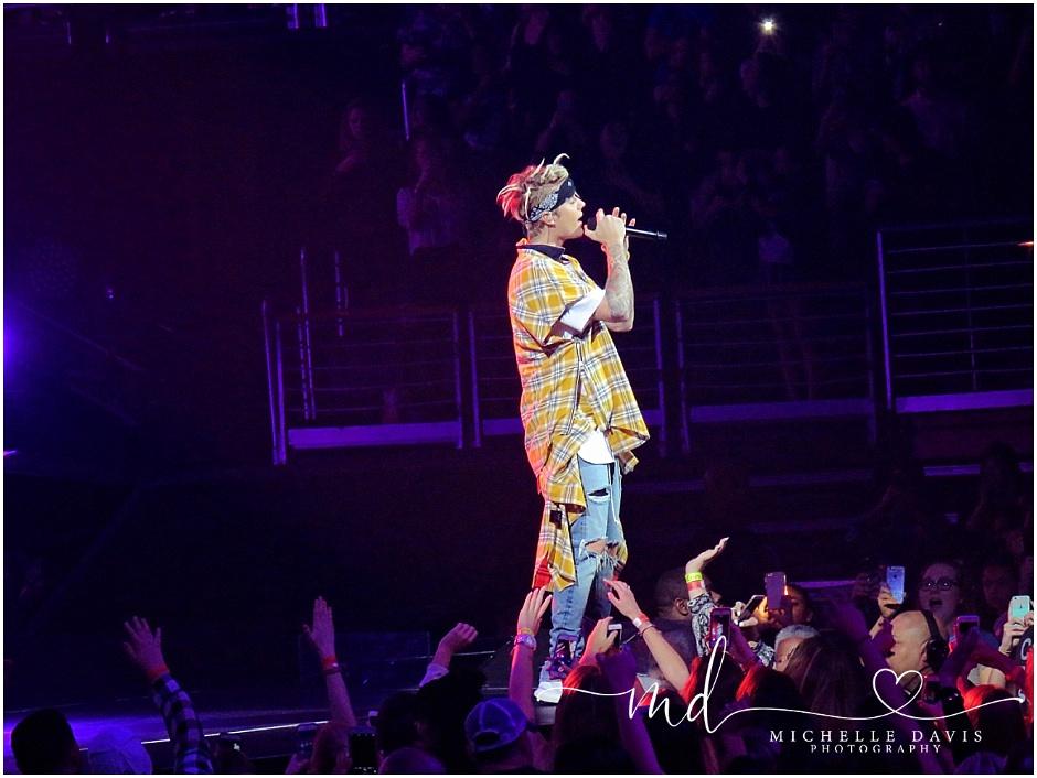 Justin Bieber Purpose Tour 4/2016